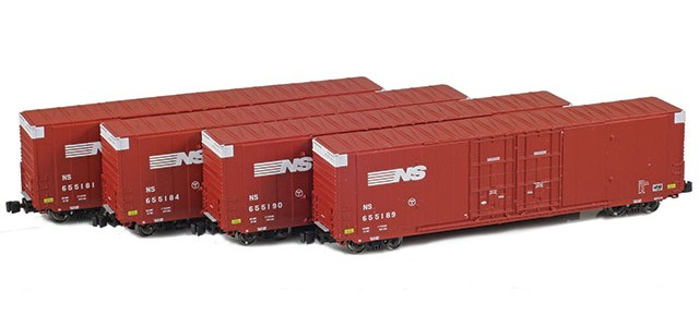 AZL 914202-1 NS | Greenville 60' Boxcar 4-Pack