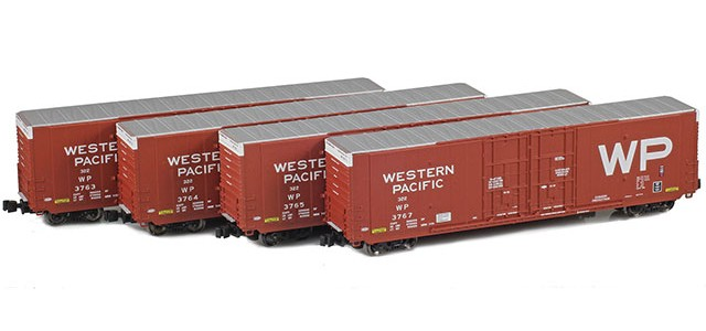 AZL 914201-1 WP | Greenville 60' Boxcar 4-Pack