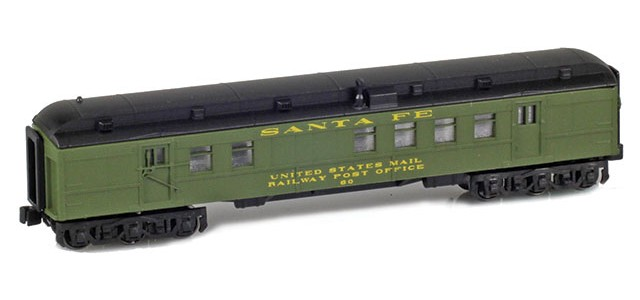 AZL 71928-1 ATSF RPO #60 UNITED STATES MAIL RAILWAY POST OFFICE