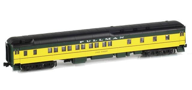 AZL 71105-1 Pullman CNW 10-1-2 Heavyweight Sleeper Car | LAKE FOREST