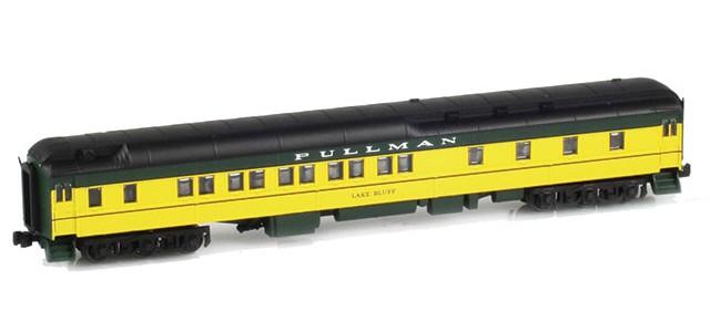 AZL 71105-2 Pullman CNW 10-1-2 Heavyweight Sleeper Car | LAKE BLUFF