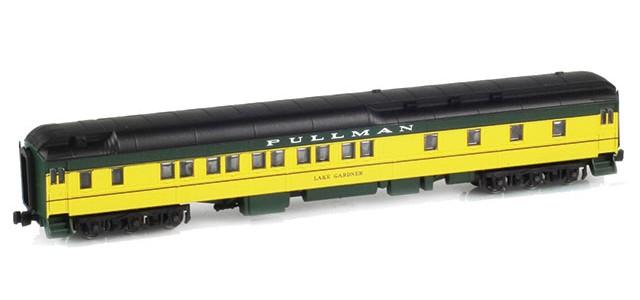 AZL 71105-3 Pullman CNW 10-1-2 Heavyweight Sleeper Car | LAKE GARDNER