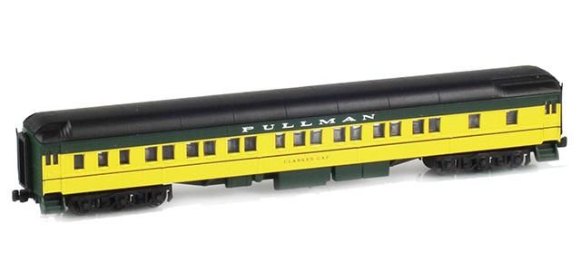 AZL 71205-2 Pullman CNW 8-1-2 Heavyweight Sleeper Car | CLARKES GAP