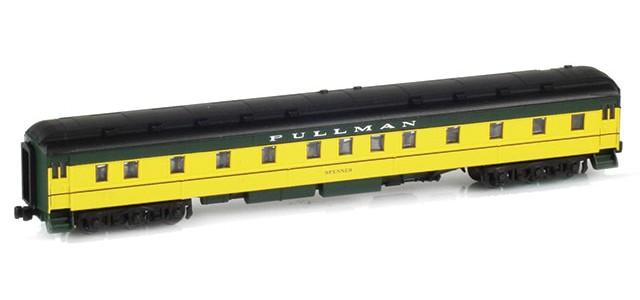 AZL 71305-1 Pullman CNW 6-3 Heavyweight Sleeper Car | SPENSER