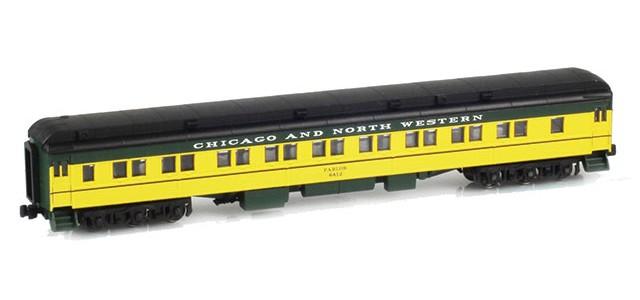 AZL 71405-1 28-1 CNW Parlor Car #6412