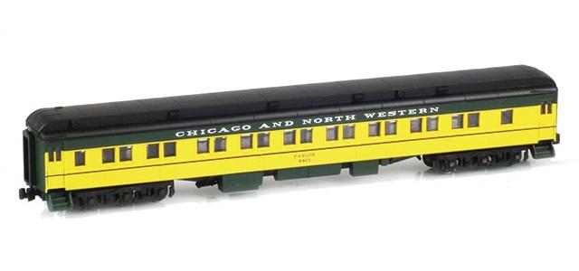 AZL 71405-2 28-1 CNW Parlor Car #6401