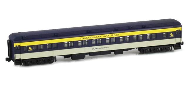 AZL 71445-0 28-1 C&O Parlor Car   Imperial Salon