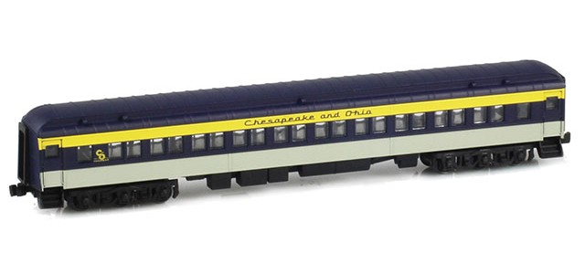 AZL 71745-0 C&O Paired Window Coach