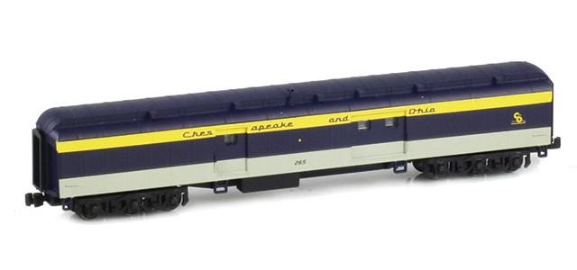AZL 71645-1 C&O Heavyweight Baggage Car #265