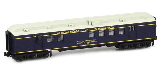 AZL 71909-2 Louisville & Nashville RPO US MAIL RAILWAY POST OFFICE #1100