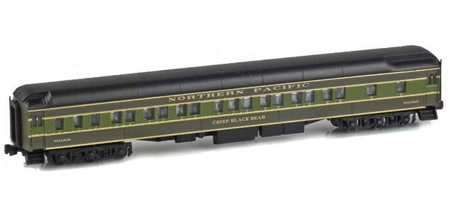 AZL 71233-3 NORTHERN PACIFIC 8-1-2 Pullman Heavyweight Sleeper | CHIEF BLACK BEAR