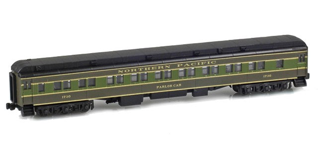 AZL 71433-1 28-1 NORTHERN PACIFIC Parlor Car #1730