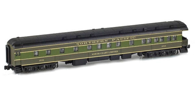 AZL 71833-1 NORTHERN PACIFIC Observation Car | NORTH COAST LIMITED #1718