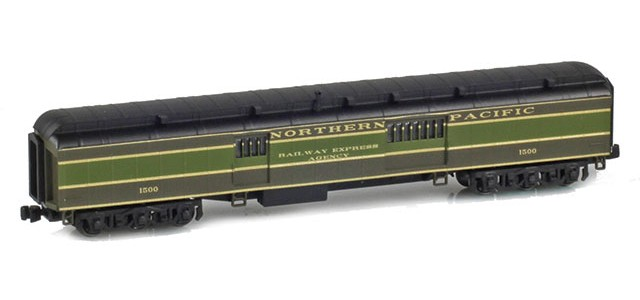 AZL 71633-1 Baggage Car NORTHERN PACIFIC RAILWAY EXPRESS AGENCY #1500