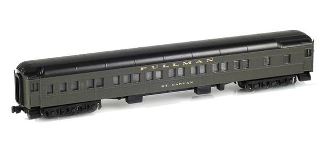 AZL 71001-2 12-1 Pullman Sleeper PS Green | St Carvan