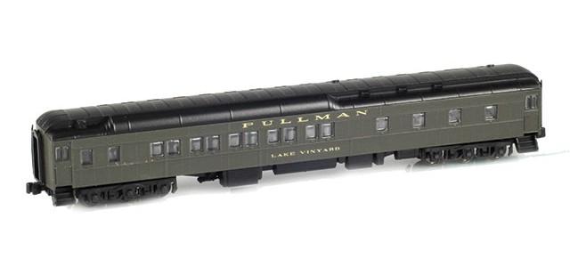 AZL 71101-3 10-1-2 Pullman Sleeper PS Green | Lake Vinyard