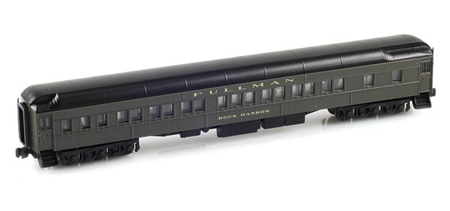 AZL 71201-1 8-1-2 Pullman Sleeper PS Green | Rock Harbor