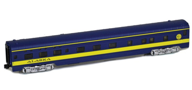 AZL 73135-0 ALASKA Sleeper 6-6-4 Lightweight Passenger Car