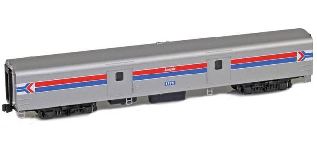 AZL 73650-1 Amtrak Baggage Lightweight Passenger Car #1175