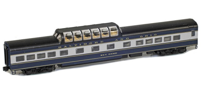 AZL 73410-2 BALTIMORE AND OHIO Dome | SKY DOME | Lightweight Passenger Car