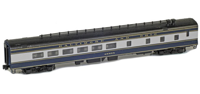 AZL 73510-2 BALTIMORE AND OHIO Diner | AKRON | Lightweight Passenger Car
