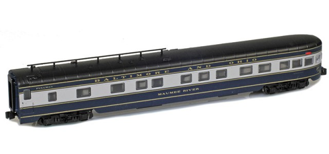 AZL 73810-2 BALTIMORE AND OHIO Observation MAUMEE RIVER Lightweight Passenger Car