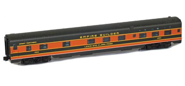 AZL 73115-1 GREAT NORTHERN Sleeper 6-6-4 | EMPIRE BUILDER LEWIS AND CLARK PASS #1384