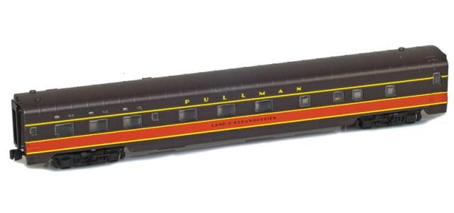 AZL 73120-2 IC Panama Limited Sleeper 6-6-4 PULLMAN LAND O'STRAWBERRIES Lightweight Passenger Car