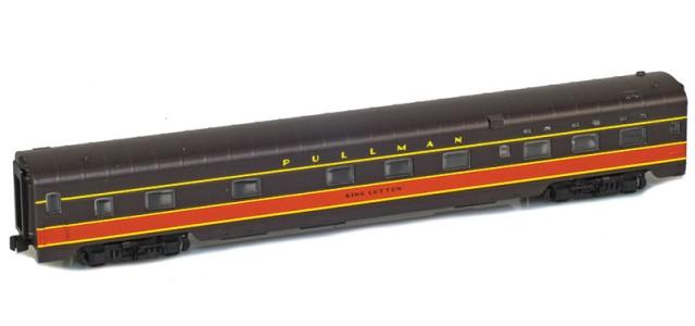 AZL 73120-3 IC Panama Limited Sleeper 6-6-4 PULLMAN KING COTTON Lightweight Passenger Car