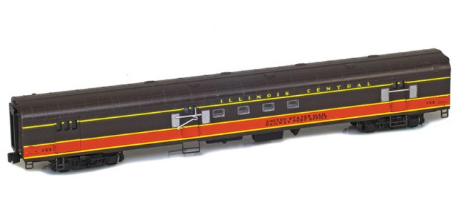 AZL 73920-2 IC Panama Limited Mail UNITED STATES MAIL RAILWAY POST OFFICE #152 Lightweight Passenger Car
