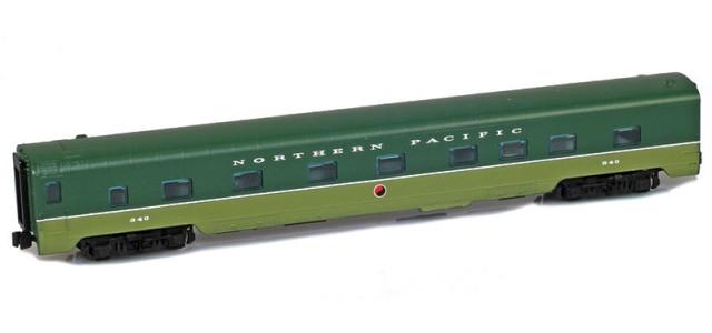 AZL 73033-2 NP | North Coast Limited Sleeper 4-4-2 #341 Lightweight Passenger Car