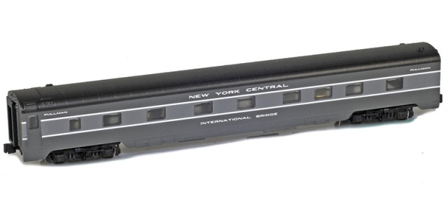 AZL 73007-4 NEW YORK CENTRAL Sleeper 4-4-2 INTERNATIONAL BRIDGE Lightweight Passenger Car