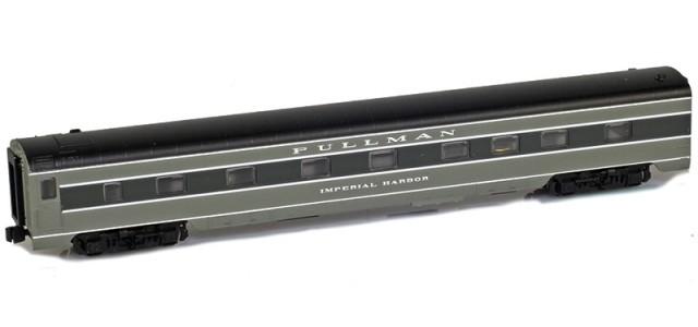 AZL 73002-1 PULLMAN Sleeper 4-4-2 IMPERIAL HARBOR Lightweight Passenger Car