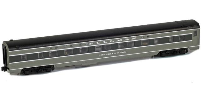 AZL 73002-2 PULLMAN Sleeper 4-4-2 IMPERIAL HORN Lightweight Passenger Car