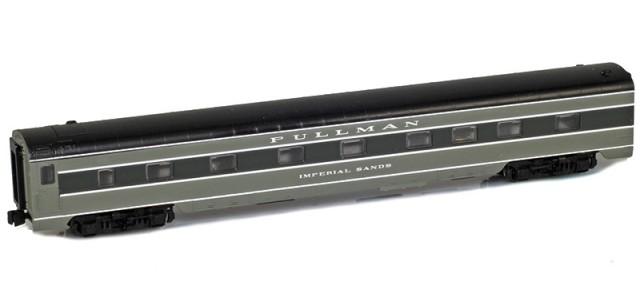 AZL 73002-3 PULLMAN Sleeper 4-4-2 IMPERIAL SANDS Lightweight Passenger Car