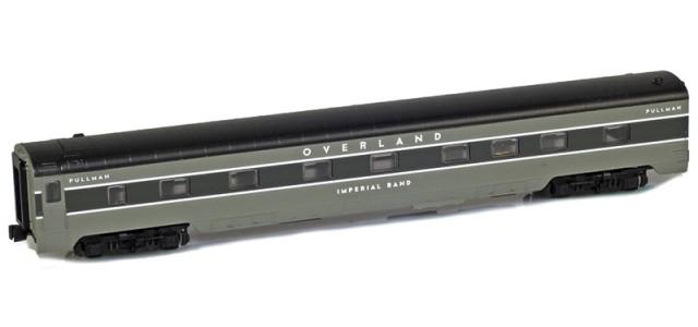 AZL 73002-5 OVERLAND Sleeper 4-4-2 IMPERIAL BAND Lightweight Passenger Car