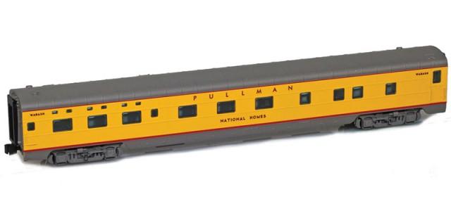 AZL 73108-6 UP (Wabash) Sleeper 6-6-4 PULLMAN NATIONAL HOMES Lightweight Passenger Car