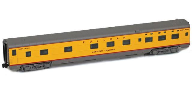 AZL 73108-3 UP Sleeper 6-6-4 PULLMAN AMERICAN COMMAND Lightweight Passenger Car