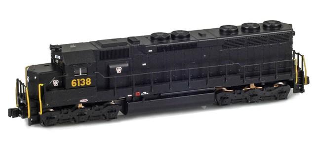 AZL 63207-1 SD45 PRR #6138