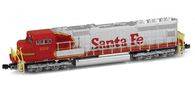 AZL 61011-2 SD75M ATSF Red Warbonnet #203