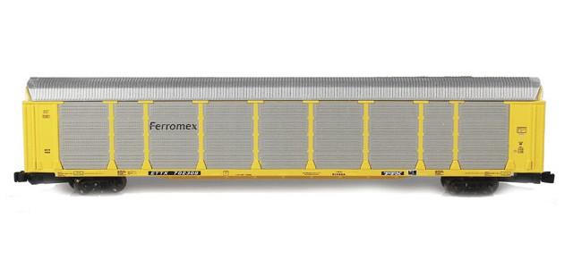 AZL 91956-1 ETTX - Ferromex Tri-Level Autorack #702309